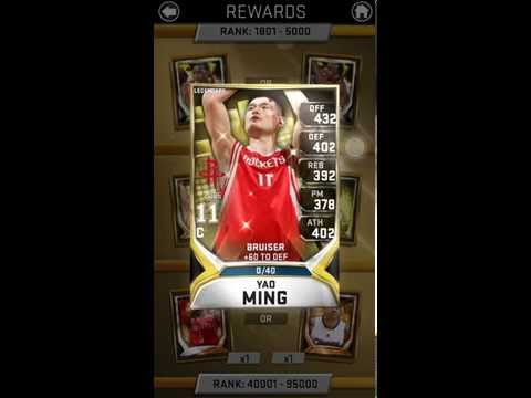 Mynba2k15 #30 Houston vs Clippers RC rewards!