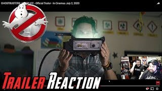 Ghostbusters: Afterlife Trailer Reaction!