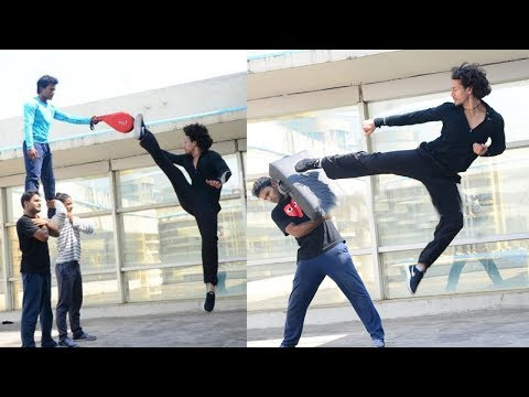 Tiger Shroff's Stunts Practice Video For Baaghi 2 LEAKED