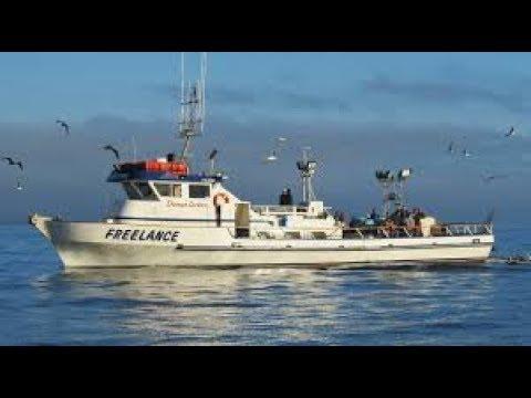 Fishing aboard the Freelance
