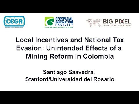 Geo4Dev Conference 2017: Santiago Saavedra, Stanford University and Universidad del Rosario