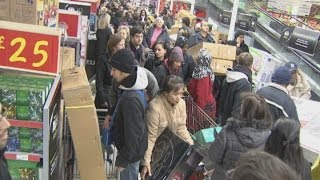 Shoppers go wild as Black Friday hits the UK