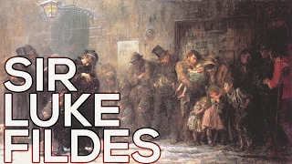 Sir Luke Fildes: A collection of 54 paintings (HD)