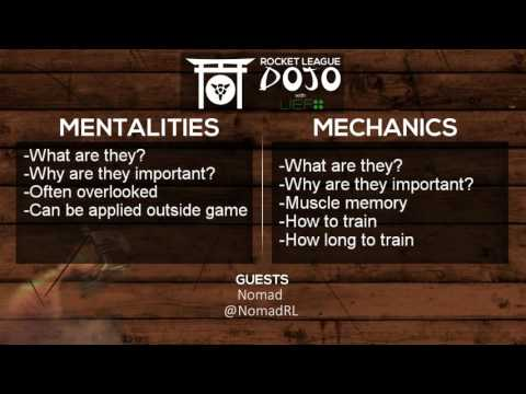 Rocket League Dojo EP 1: What are Mentalities and Mechanics? ft Nomad