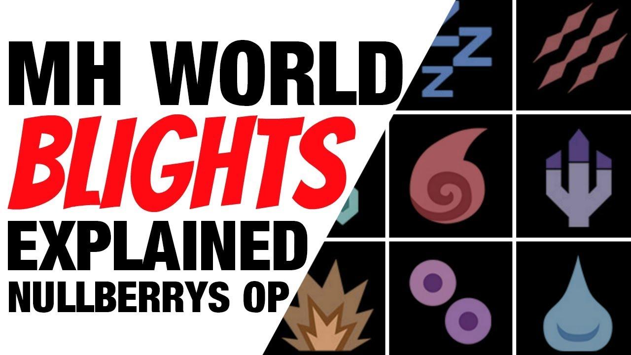 Monster hunter world blights status effects guide for Decoration list monster hunter world