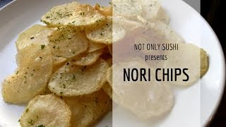Nori Chips | Notonlysushi Japanese Recipe
