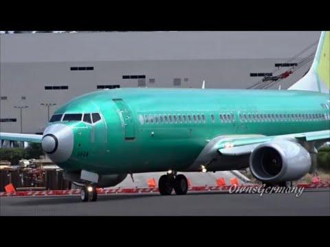 UnPainted Qantas Boeing 737-800 First Flight - Test Flight