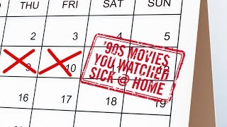 The Best Movies To Watch When You Were Home Sick From School in the 90's