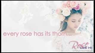 Repeat youtube video Lee Hi - Rose Easy Lyrics