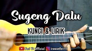 Download lagu Sugeng Dalu - DENNY CAKNAN (Kunci & Lirik) cover kentrung ukulele by Feri Yt Official