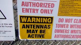 FCC/SBA Cell Tower ADMITS Radiation Levels are Lethal