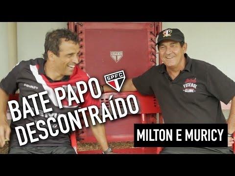 Bate Papo entre Milton Cruz e Muricy Ramalho - São Paulo FC