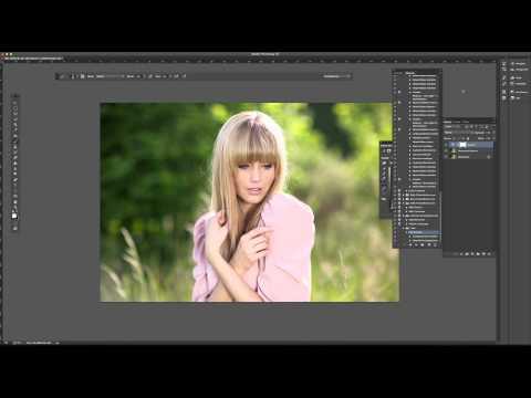 Photoshop CC Aktionen Erstellen Einfach Erklärt