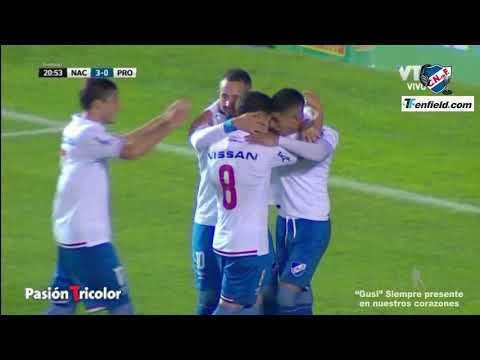 Nacional 4  - Progreso 0 (Pasión Tricolor 1010AM)