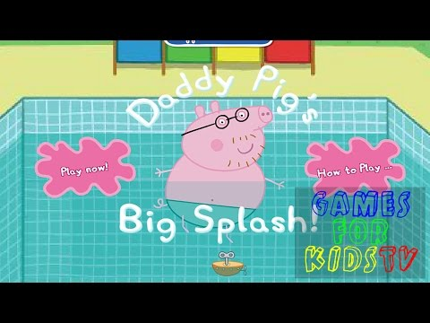 Peppa Pig Diving - Games For Kids TV