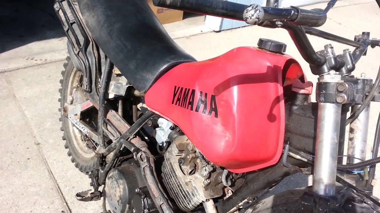 1982 yamaha xt550 New carburetors