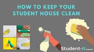 How to Keep Your Student House & Accommodation Clean - Student-It