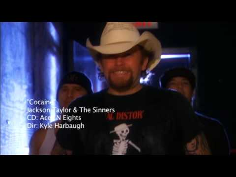 """Cocaine"" Jackson Taylor and the Sinners - Music Video"