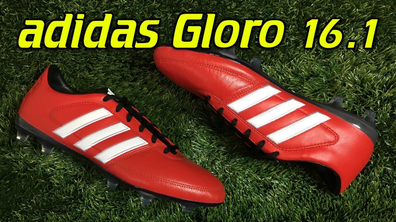 e3459ea0a08 Adidas Gloro 16.1 Vivid Red - Review + On Feet - YouTube