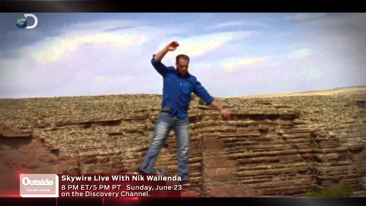 Nik Wallenda First Grand Canyon Tightrope Walk YouTube - Nik wallendas epic blindfolded skyscraper tightrope walk