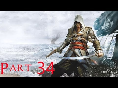 Assassin's Creed 4 Black Flag Walkthrough Part 34 - Trust is Earned Sequence 9 (100% Sync)