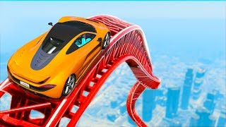 WORLD'S MOST IMPOSSIBLE STUNT RACE! (GTA 5 Funny Moments)