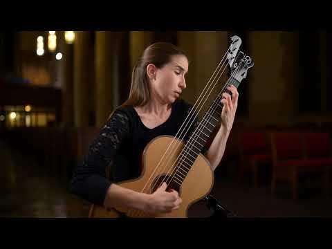 Guitarist Petra Poláčková Performs Tombeau Sur La Mort De M. Comte D'Logy By Sylvius Leopold Weiss