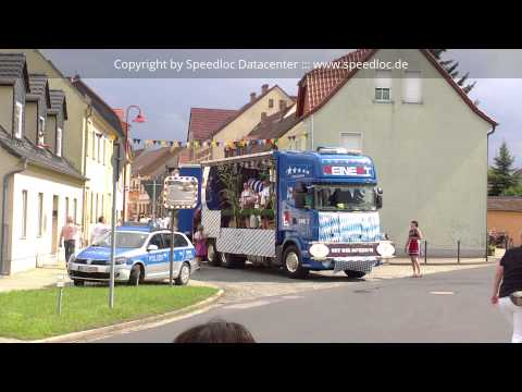 Festumzug beim Rothenburger Sommerfest 2014
