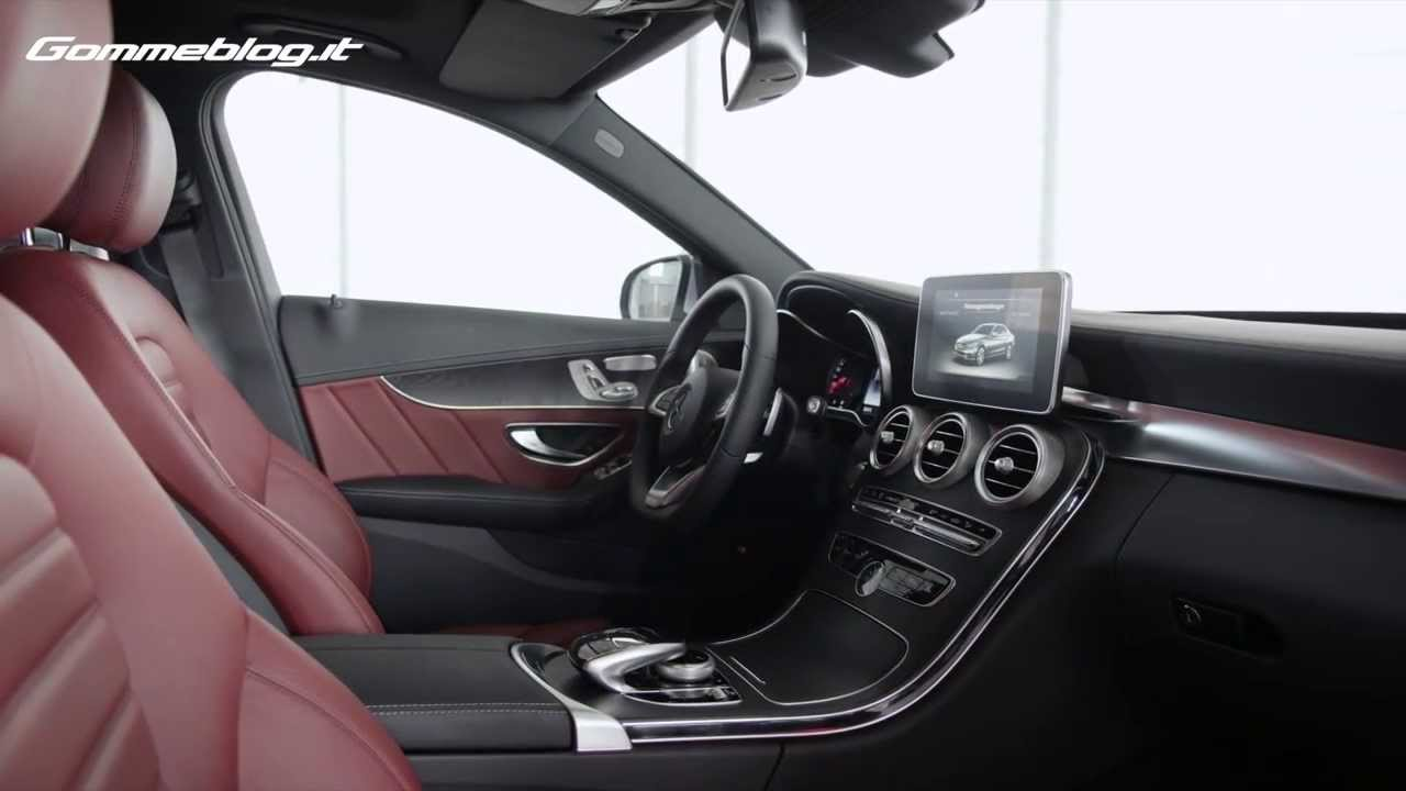 2014 ALL-NEW Mercedes-Benz C Class 250 - Interior Design - YouTube
