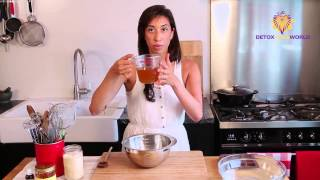 http://www.detoxyourworld.com/cacao-butter-3 Ingredients 1 and a quarter cups of cacao butter (melted) 1 cup of coconut flour Half a tablespoon of vanilla bean ...