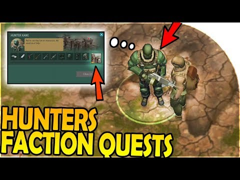 HUNTERS FACTION QUESTS - UNLOCKING THE WALL!? - Last Day on Earth Jurassic Survival Gameplay