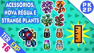 Decoração Mármore/Granito, Nova Régua, Goblin Tech e Strange Plants  • Terraria 1.3 Expert #16