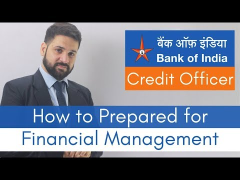 Bank of India Credit Officer Exam: How to prepare for Financial Management section