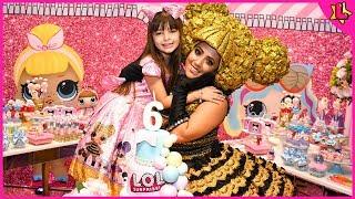 Festa LOL suprise de aniversário de 6 anos da Laurinha! Laura's 5th Birthday Party coming soon