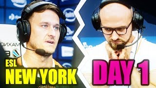 BEST OF ESL ONE NEW YORK 2017 DAY 1 - s1mple is a GOD!