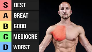 22 Chest Exercises Ranked (Worst to Best!)