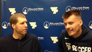 William Penn Athletics Joe Minton Interview 9-21-18