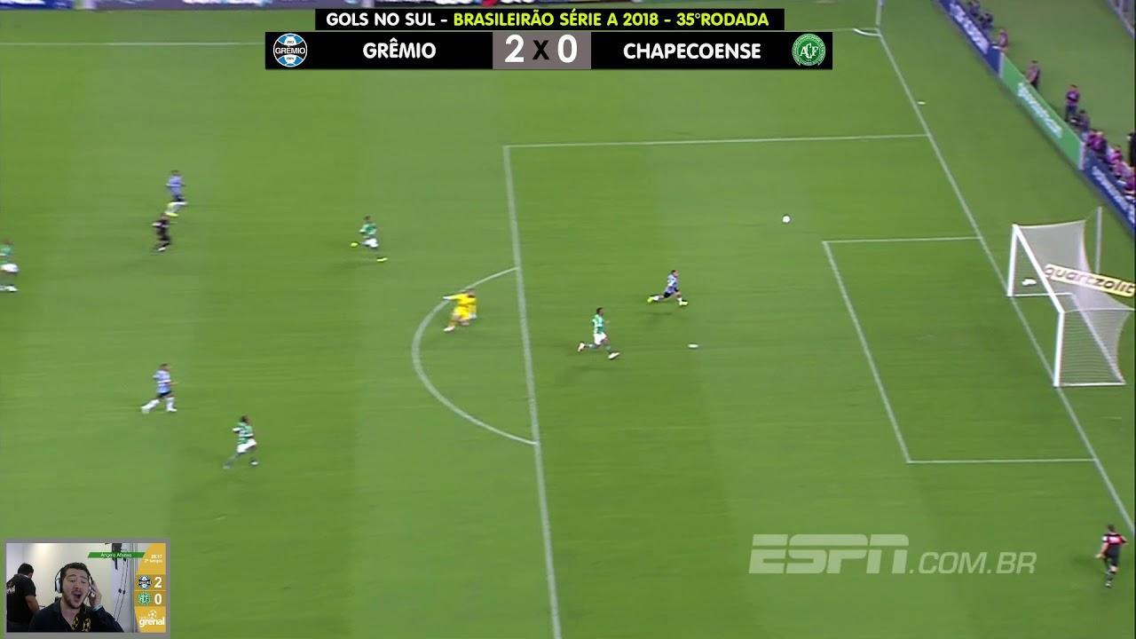 Grêmio 2 x 0 Chapecoense - Rádio Grenal - 18 11 2018 - YouTube 9ba99cf6f86ba