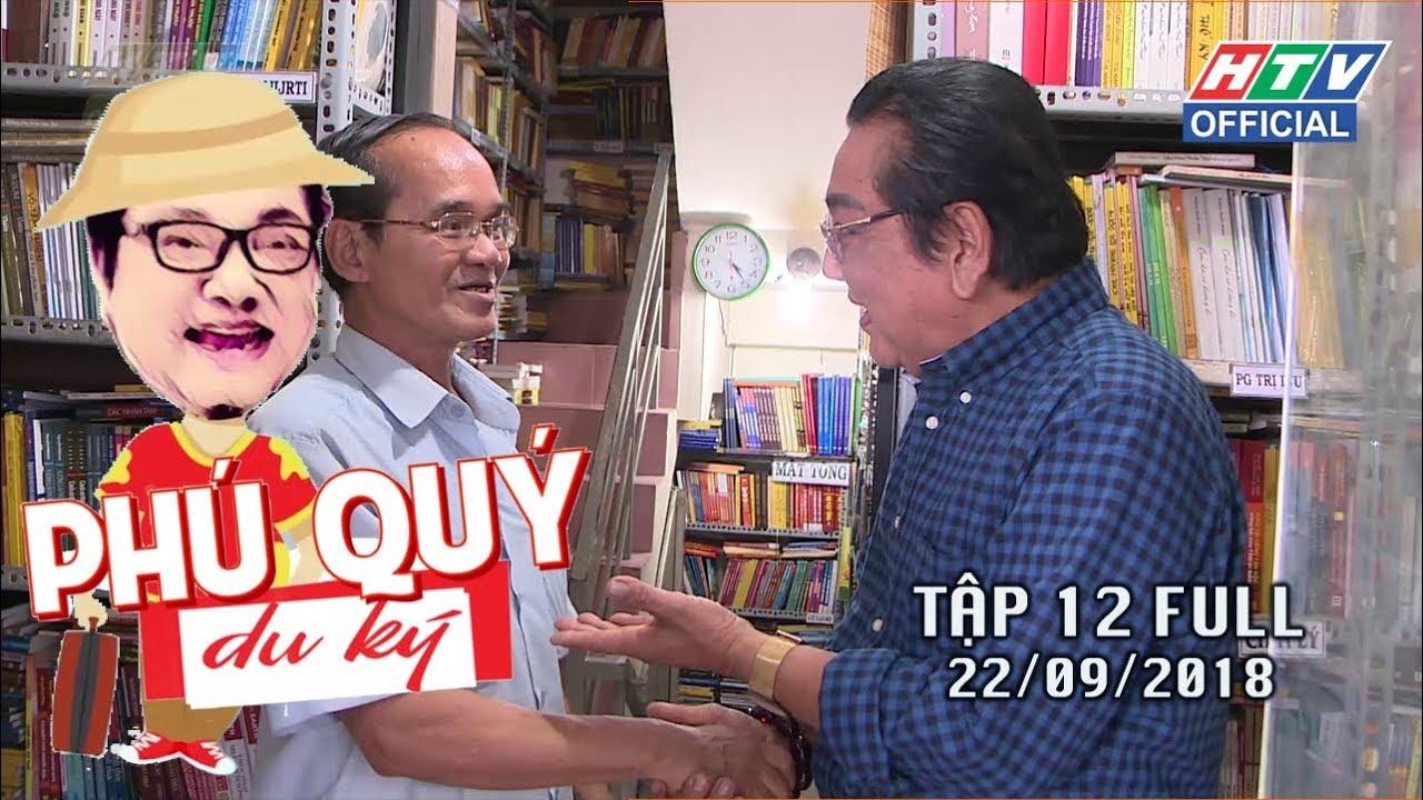 image PHÚ QUÝ DU KÝ   Tập 12: Hiệu sách miễn phí ở quận Bình Thạnh   PQDK #12 FULL   22/9/2018