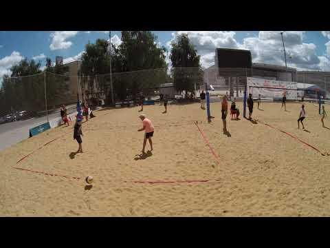 Пляжный волейбол 2007-2006 г Орел игра 2