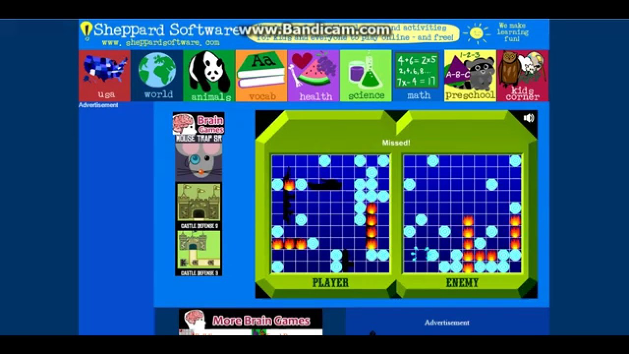 Letu0027s Play On Sheppard Software. Brain Games