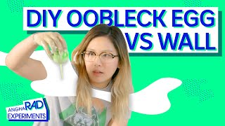 Why Is Oobleck Both Hard & Soft? | Home Science Experiment