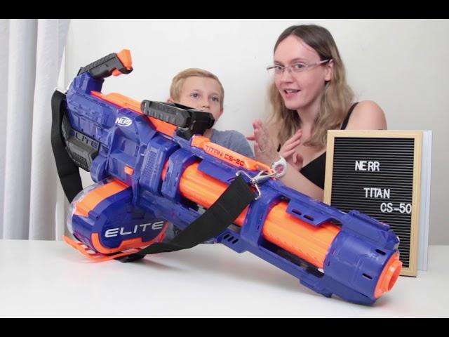 Nerf elite titan CS-50 de Hasbro