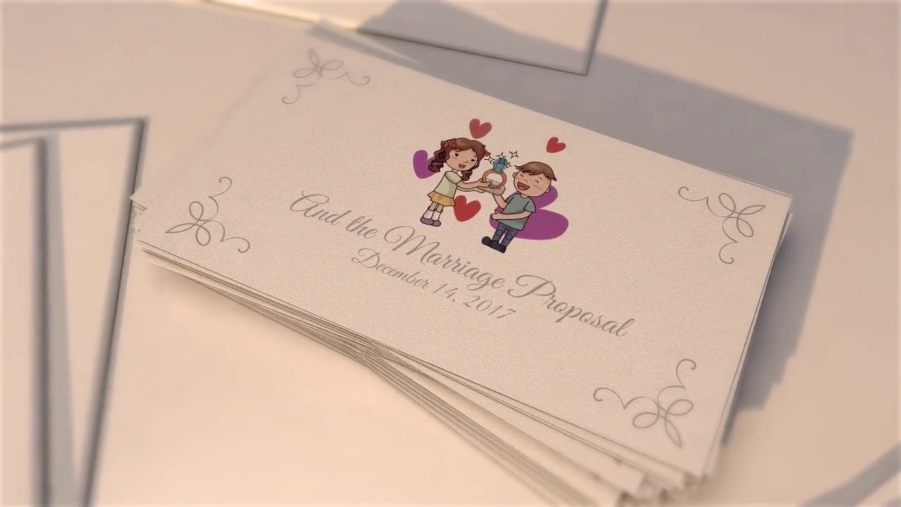 Wedding Invitation After Effects Templates Video Editing System