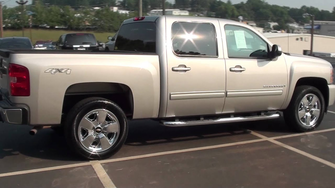 for sale 2009 chevrolet silverado ltz 37k miles stk 11934a youtube. Black Bedroom Furniture Sets. Home Design Ideas