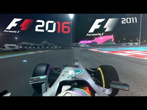 F1 2016 VS F1 2011 [Graphics & Sound Comparison]