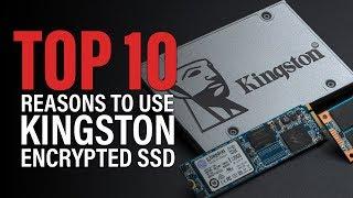 Hardware level encryption SSD: Kingston UV500 Infographic