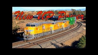 TRAINS on Parade!  MUST SEE! Brand new engines on the Sunset Route!