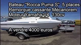 Bateau Rocca 130cv - YouTube