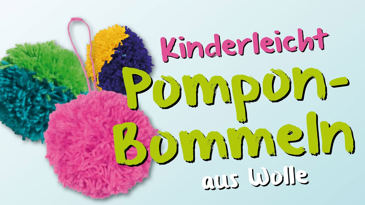 Puschel Basteln Diy How To Make Pompons Crafting
